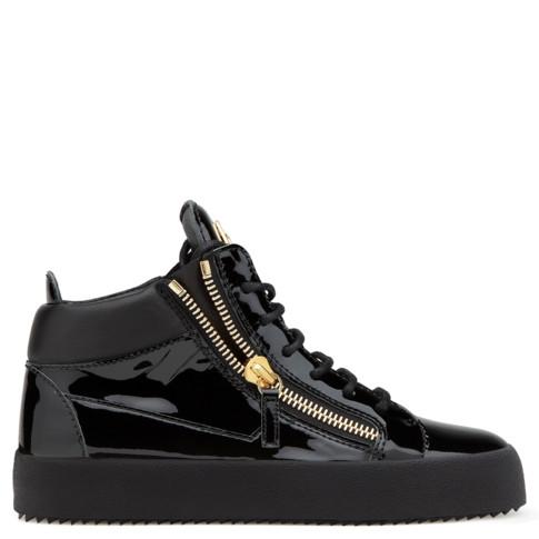 Giuseppe Zanotti Mid Tops - KRISS - Men's Black Shoes