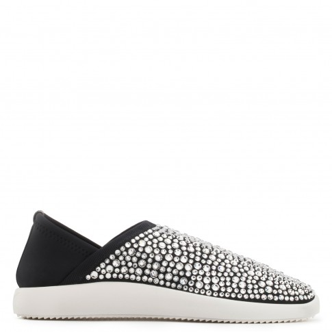 Giuseppe Zanotti Women's Sneakers MARLE Black Slip-On