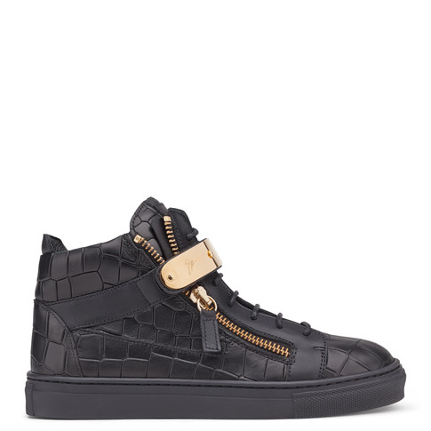 Giuseppe Zanotti Teen - NICKI - Kids Black Sneakers