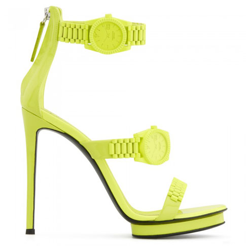 "Giuseppe Zanotti Women's Sandals ""Neon Gzxcowan"""