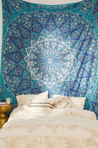 Magical Thinking Boho Medallion Tapestry