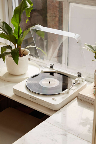 Audio Technica AT-LP60WH-BT Bluetooth Wireless Vinyl Record Player