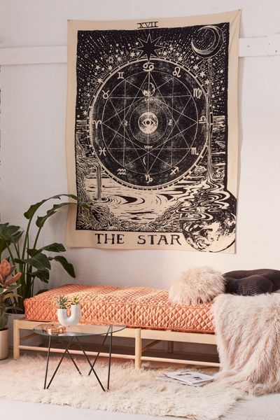 The Star Tarot Tapestry Wall Decor