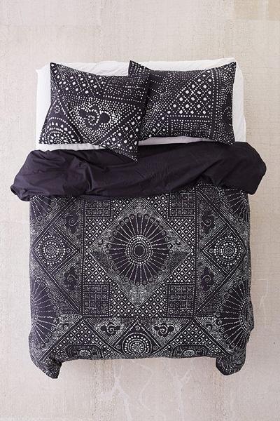 Rowan Bandhani Boho Bedding Duvet Cover