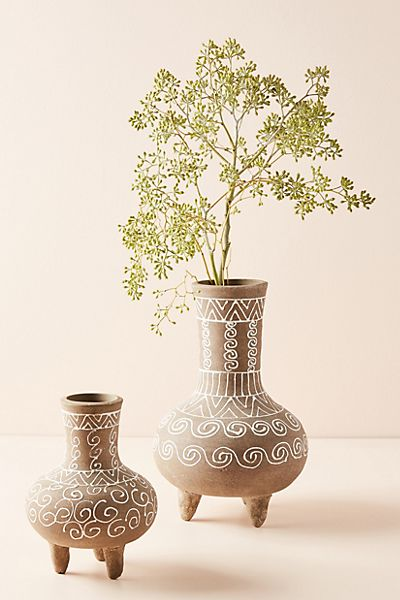 Aya Geo Patterned Vase