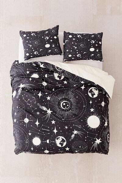 Deny Designs Solar System Duvet Cover