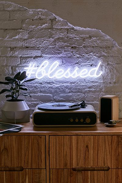 "Led Neon Sign ""Blessed"""