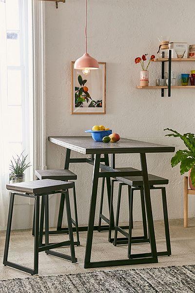 "Minimalist Counter Dinning Table Set ""Sydney"""