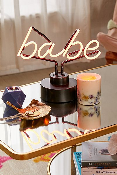 Babe Neon Sign Table Lamp