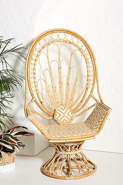 Peacock Rattan Chair
