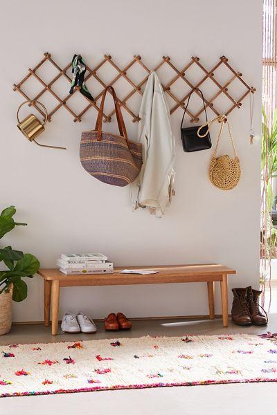 "Wooden Folding Multi-Hook ""Vintage Decor"""