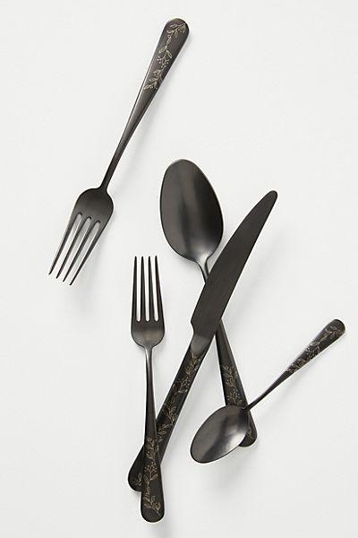 """Unique Kitchen Flatware Set """"Olivette"""""""