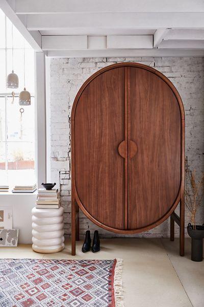 """Modern Ovular Dresser """"Marienne Storage Cabinet"""""""