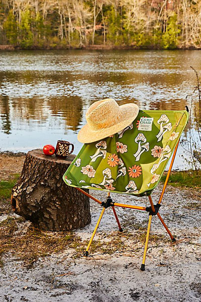 """Parks Project Packable Camp Chair """"Shrooms"""""""