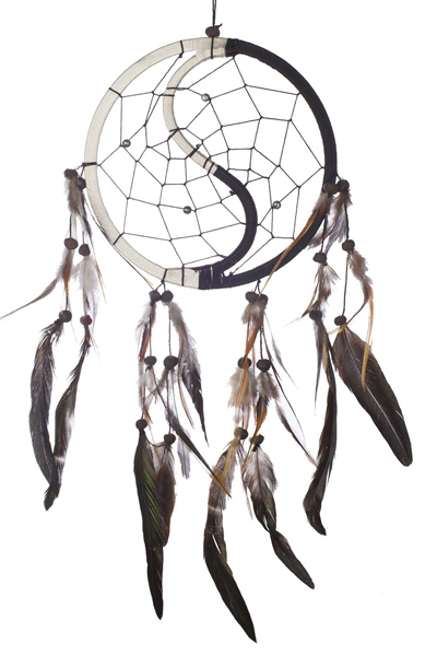 Dream Catcher Handmade Traditional Yin Yang