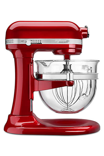 KitchenAid Quart Bowl-Lift Stand Mixer Professional 6500 Design Series 6