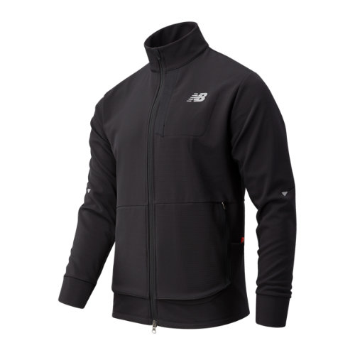New Balance 03252 Men's Impact Run Winter Jacket - Black (MJ03252BK)