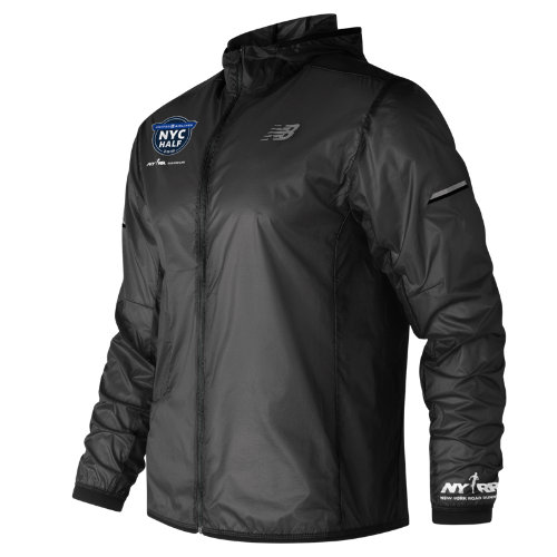 New Balance Men's United Airlines NYC Half Light Packable Jacket - (MJ81240C)