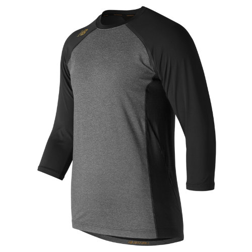New Balance Men's 4040 Bold and Gold Compression Top - (TMMT650-BG)