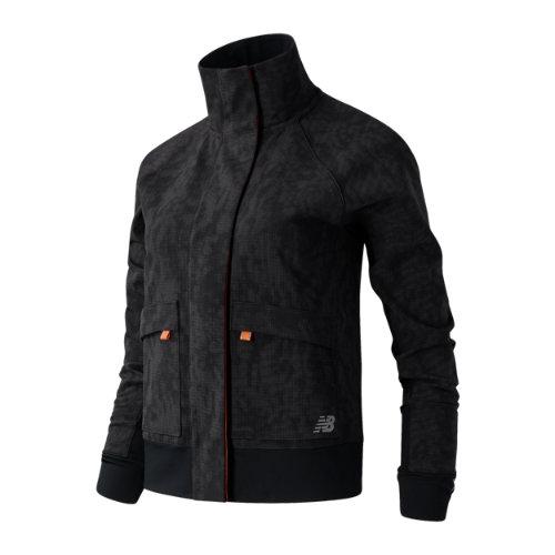 New Balance 03253 Women's Reflective Impact Run Winter Jacket - Black (WJ03253BK)