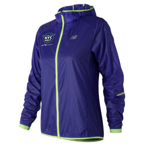 New Balance Women's United NYC Half Ultralight Packable Jacket - (WJ81240C)