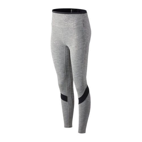 New Balance 01175 Women's Transform Novelty High Rise 7/8 Pocket Tights - Grey (WP01175LAN)