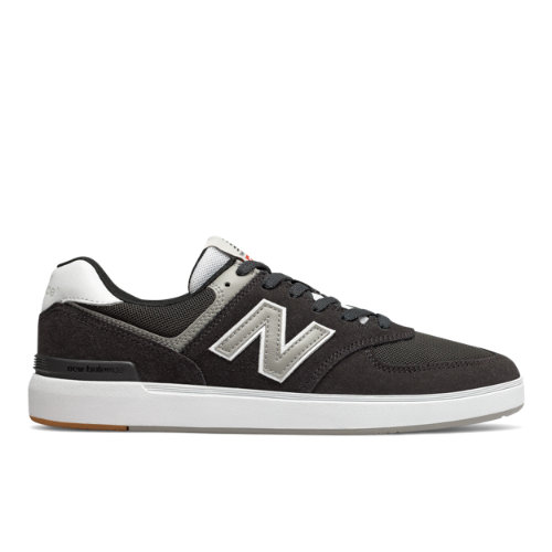 New Balance AM574 Men's Court Classics Shoes - Black (AM574BKR)