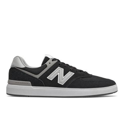 New Balance All Coast 574 Men's Court Classics Shoes - Black (AM574BLS)