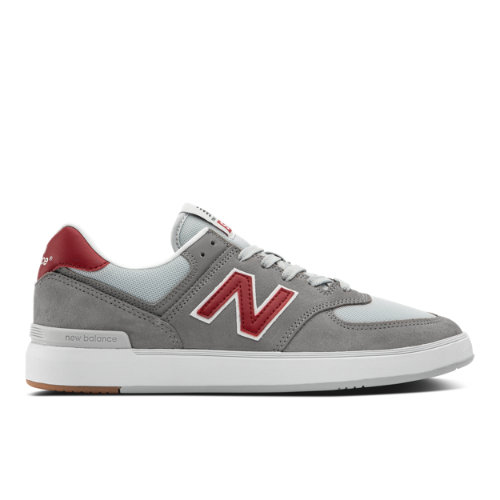 New Balance All Coast 574 Men's Lifestyle Shoes - Grey / Red (AM574GRD)