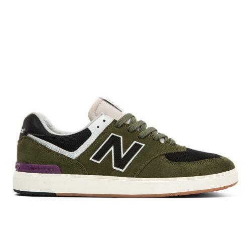 New Balance All Coasts 574 Men's Court Classics Shoes - Green (AM574HOS)