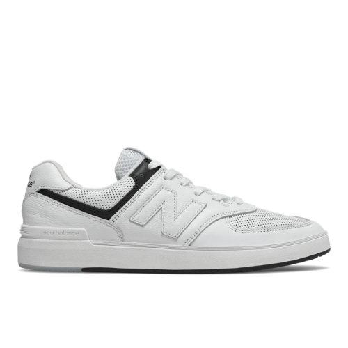d031fec1952b9 New Balance All Coasts 574 Men's Court Classics Shoes - White (AM574PWG)