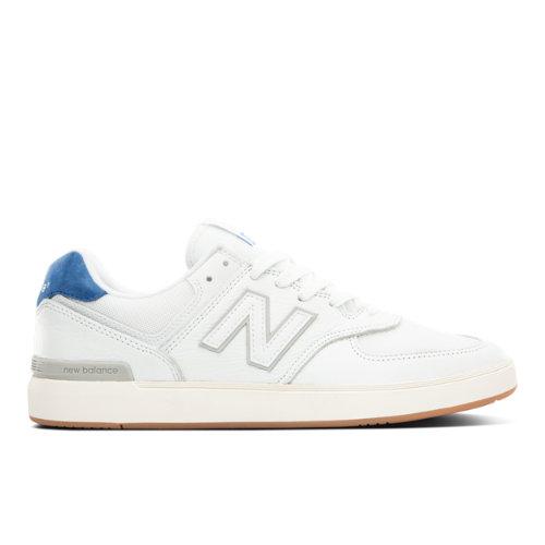 New Balance All Coasts AM574 Men's Court Classics Shoes - White (AM574WBT)