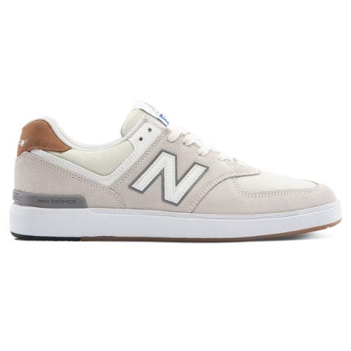 New Balance AM574 Men's Court Classics Shoes - Off White (AM574WTR)