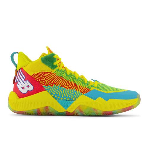 New Balance TWO WXY Men's Basketball Shoes - Yellow / Green (BB2WXYCB)
