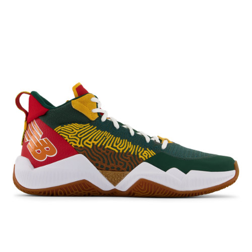 New Balance TWO WXY Men's Basketball Shoes - Green / Red (BB2WXYSO)