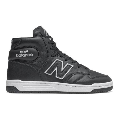 New Balance BB480 Men's Lifestyle Shoes - Black (BB480HD)