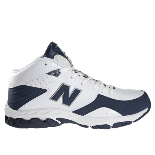New Balance 581 Men's Basketball Shoes - White, Navy (BB581NV)