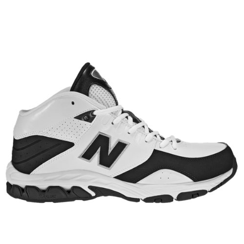 New Balance 581 Men's Basketball Shoes - White, Black (BB581WB)
