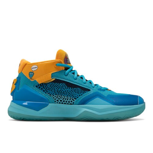 New Balance KAWHI Men's Basketball Shoes - Blue / Gold (BBKLSJR1)