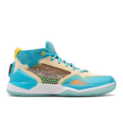New Balance KAWHI Men's Basketball Shoes - Blue / Yellow (BBKLSWB1)