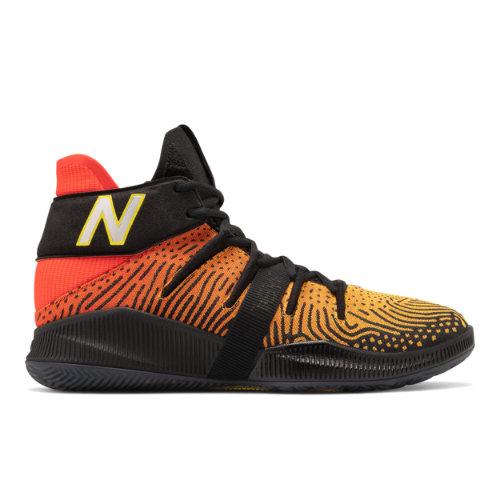 New Balance OMN1S Men's Basketball Shoes - Red / Yellow / Black (BBOMNXA1)