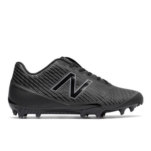 New Balance Burn X Low-Cut Cleat Men's Lacrosse Shoes - Black (BURNXLBK)