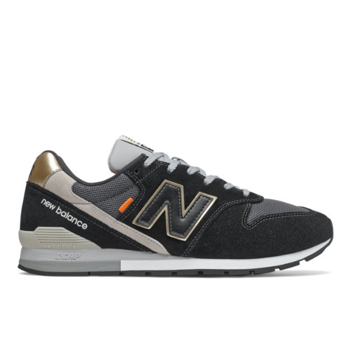 New Balance 996 Men's Running Classics Shoes - Black (CM996BH)