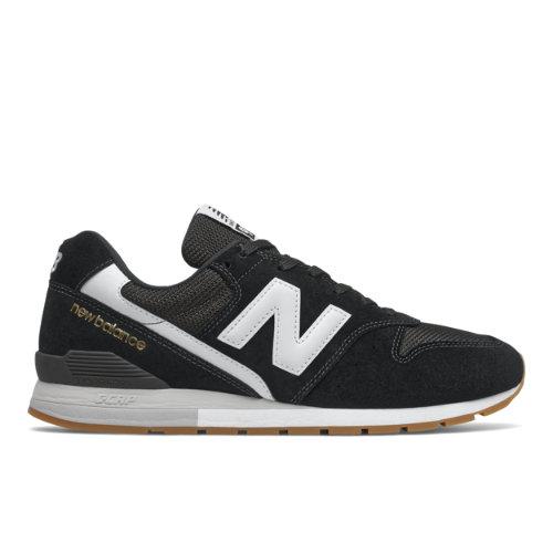 New Balance 996 Men's Lifestyle Shoes - Black / White (CM996CPG)