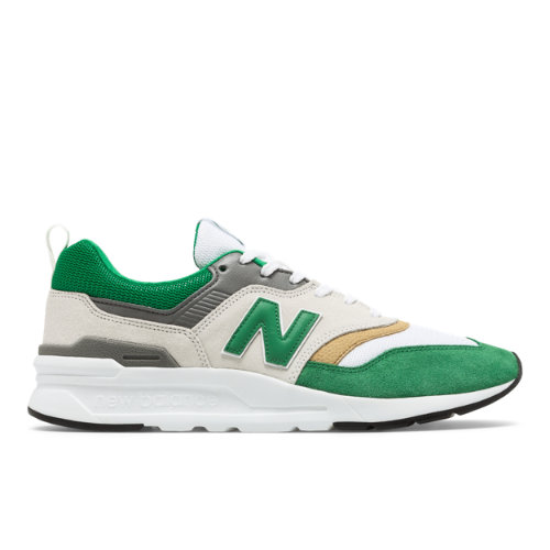 New Balance 997H Celtic FC Men's Sport Style Shoes - White (CM997HFF)