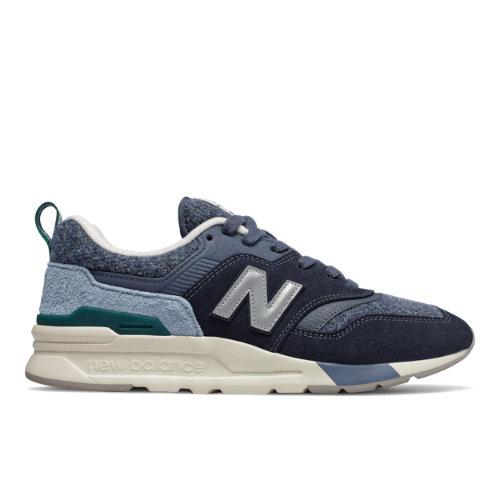 New Balance 997H Men's Lifestyle Shoes - Navy / Blue (CM997HXU)