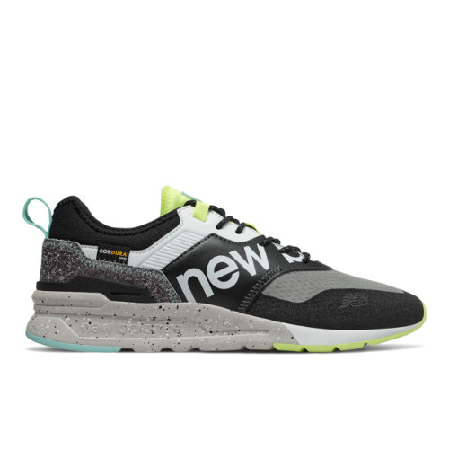 New Balance 997H Spring Hike Trail Men's Classics Shoes - Black / Green (CMT997HD)