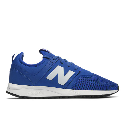 New Balance 247 Classic Men's Lifestyle Sneakers Shoes - Blue / White (MRL247BW)