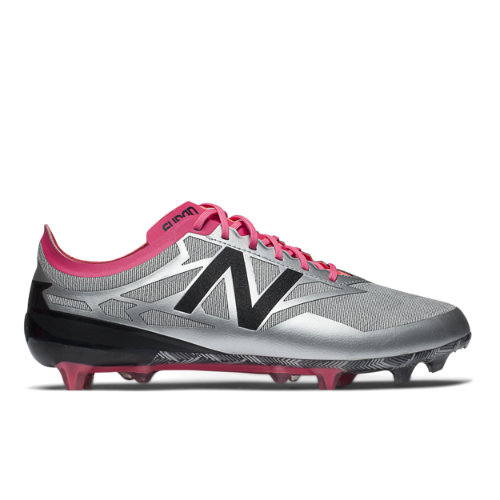 New Balance Furon Flare Limited Edition Men's Soccer Shoes - Silver / Pink / Black (MSFLFSA3)