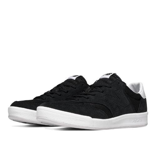 New Balance 300 Suede Men's Court Classics Shoes - Black (CRT300FA)